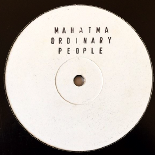"Ordinary People - Mahatma (12"") (Promo) (VG-/G++)"